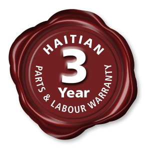 Haitian Injection Moulding Machines 3 Year Warranty