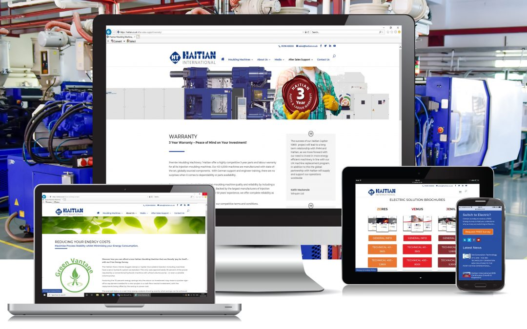 Haitian UK launches new website to give manufacturers a competitive edge